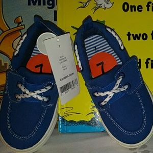 Carter's Toddler Easy-On Closure Boat Shoes